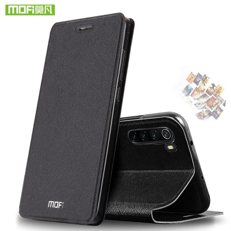 Mofi magro flip cases para xiaomi redmi nota 8/nota 8 pro caso para xiaomi redmi 8 8a capa de couro do plutônio + telefone tpu funda coque