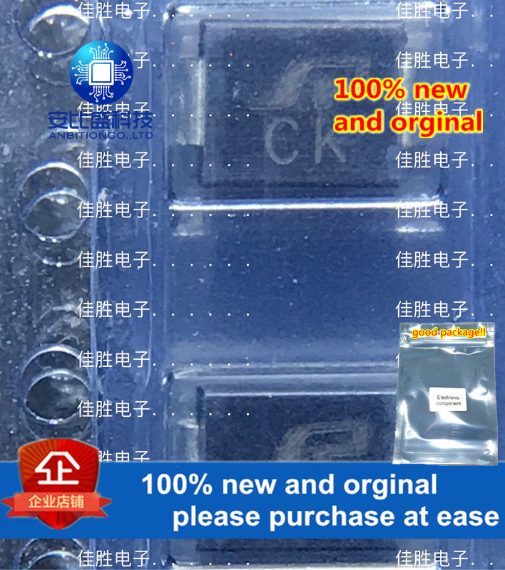 50pcs 100% New And Orginal SMBJ30CA DO214AA Sik-screen CK In Stock