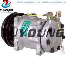 SD7H15 Car Air Conditioner Compressor For VOLVO VI 11058974 11007857 24v 2pk 132mm