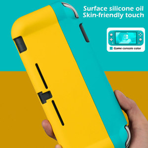 Image 5 - Switch Lite Protective Case Bag Magnetic Buckle Grip Case PC Hard Back Cover Shell For Nintendo Switch Lite Game Accessories