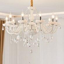 Led lampadario Di Cristallo di casa apparecchio di illuminazione lustri de cristal Moderna cucina sala da pranzo lampadari di soggiorno candelabro