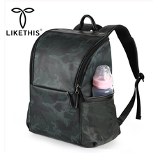 LIKETHIS Backpack Mommy Multifunction Diaper Bags Maternity Bag For Disposable Waterproof Unisex Rucksack Large Женский Рюкзак