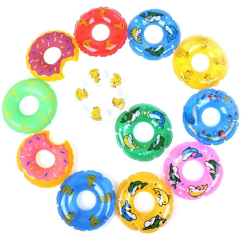 1 Pcs Mini Swimming Buoy Lifebelt Ring For Doll Accessories Baby Doll Accessories Baby Toys Best Gift