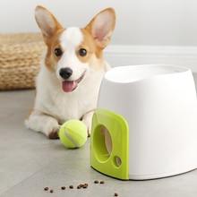 Thrower-Ball-Toys Launcher Food-Reward-Machine Slow-Feeder Dog-Entertainment Tennis Training