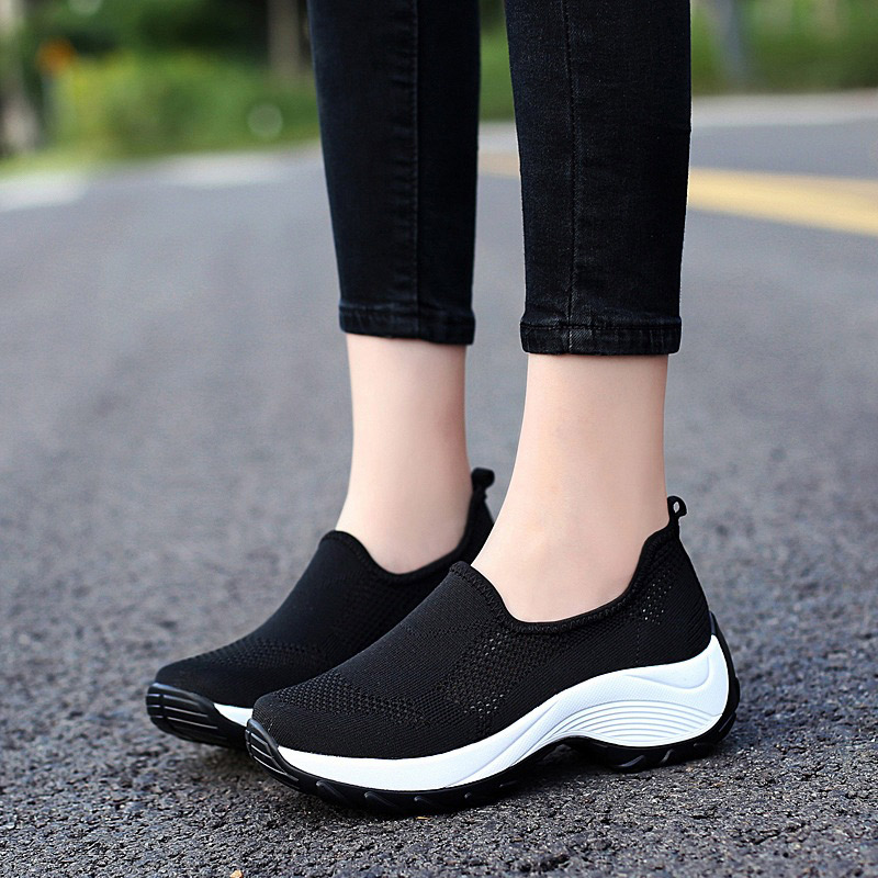 Women Shoes Slip-on Wedges Sneakers
