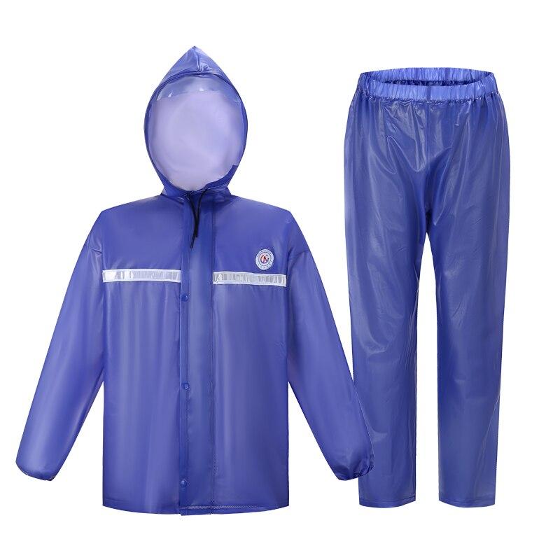 QIAN Raincoats Motorcycle Suit Rain Coat Women/Men Cycling Hooded Women's Rain Poncho Fishing Camping Rain Gear Men's Coat