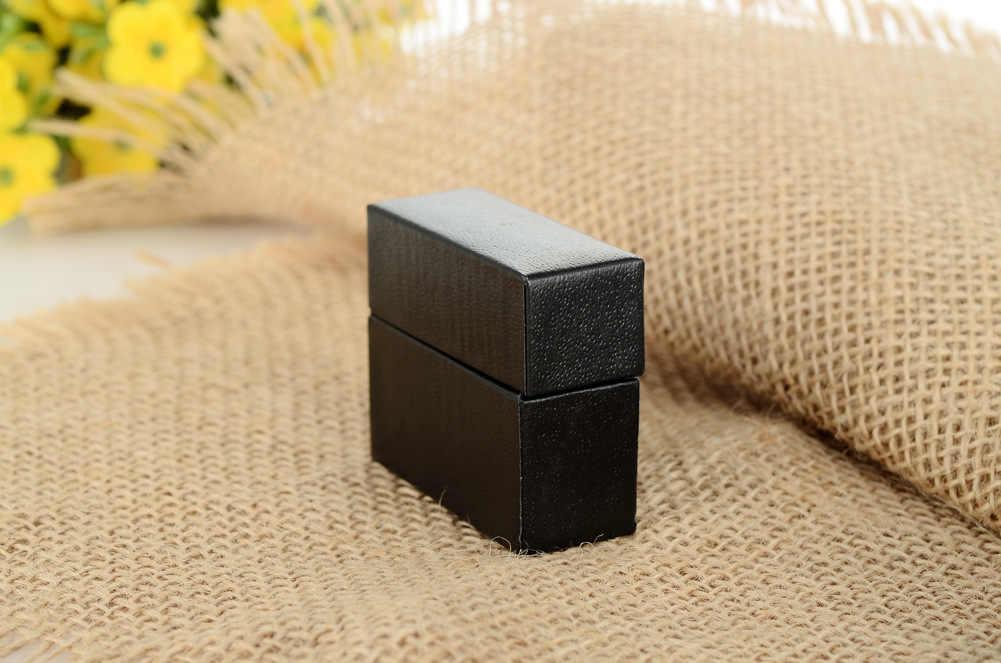Caja de joyería de venta al por mayor de fabricantes nuevo estilo blanco y negro con patrón pequeño caja de anillo caja de joyería caja de regalo caja
