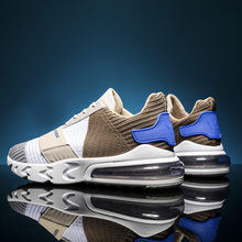 Fashion Mens Shoes Portable Light Breathable Running Shoes 44 Large Size Sneakers Comfortable Jogging Casual Shoes student shoes(China)