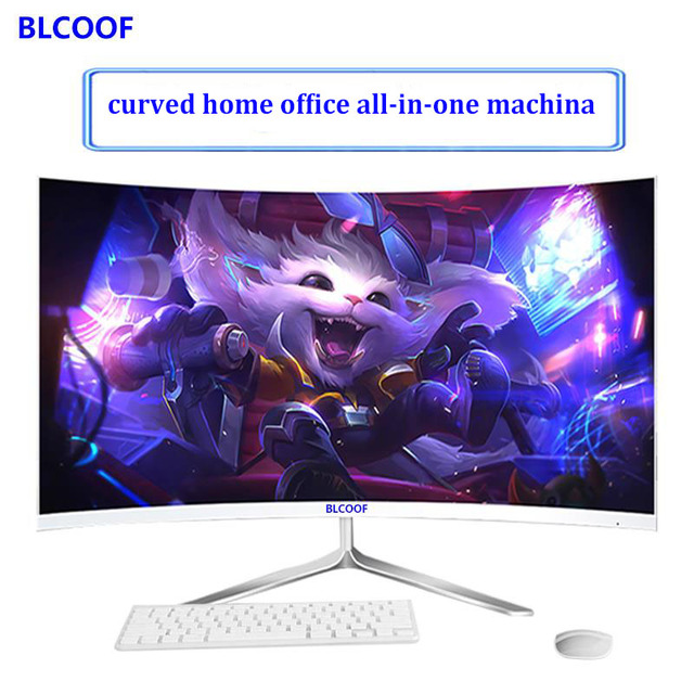"""24 inch """"curved Surface all-in-one machine surface intel core i5 Processors home office desktop computer games built in wifi"""