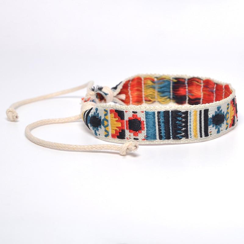 Bohemia Style Weave Rope Cotton Handmade Bracelets