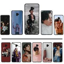 Harry Styles handsome Soft Silicone Black Phone Case For Samsung Galaxy S5 S6 S7 S8 S9 S10 S10e S20 edge plus lite p232 triangle black silicone case cover for samsung galaxy s5 s6 s7 s8 s9 s10 s10e lite edge plus