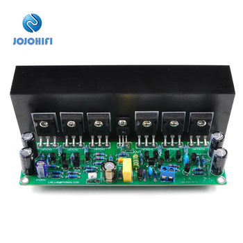1pc L15 Finished Board with Radiator Heat Sink IRFP240 IRFP9240 Mono FET Amplifier Audio MOSFET Sound Amplifiers Assembled Board assembled 1200w powerful amplifier board mono hifi audio amp board with heatsink