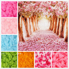Artificial-Flowers Rose-Petals-Decorations Wedding Simulation Gift Marriage-Room 5--5cm