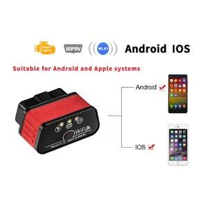 Image 4 - ELM327 WIFI araç teşhis tarayıcı Automotivo ODB 2 Autoscanner KW903 ELM 327 Wi fi OBD2 Bluetooth adaptörü Iphone Android için