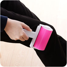 1PC Portable Washable Dust Filter Drum Roll Sticky Hair Removal Device Cleaner Cleaning Brush Lint Rollers Brushes Best Gift