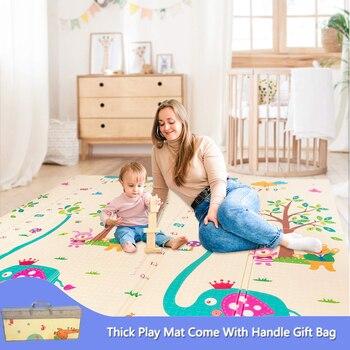Thick Baby Play Mat Foldable Baby XPE Play Mat Foam Mat Folding Baby Mat For Children Crawling Mat Kid`s Rug For Children