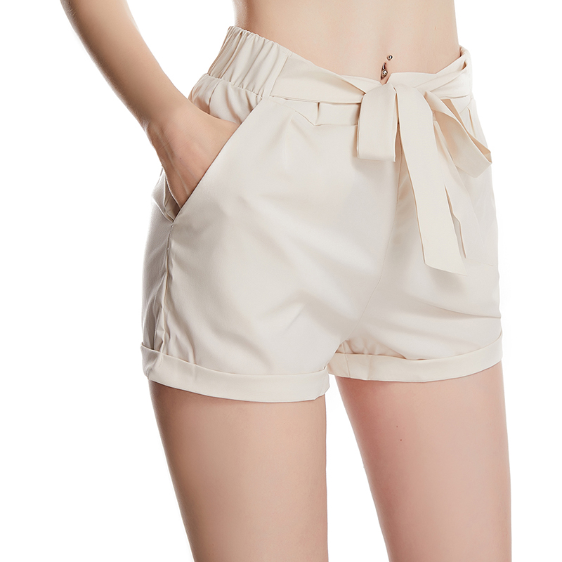 New Style Tight-Fitting Ladies Hips Casual Stretch Peach Hip Fitness Shorts Women's High Waist Sports Shorts