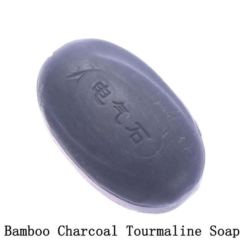2 Styles Natural Removal Pimple Pore Skin Acne Treatment Sulfur Soap Cleaner Bamboo Charcoal Face Body Care Wash Basis Soap