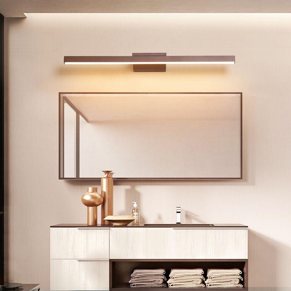 Modern Bathroom Vanity Mirror Vanity Wash Basin led Light Mirror Front Light LED 120 100 80 40cm