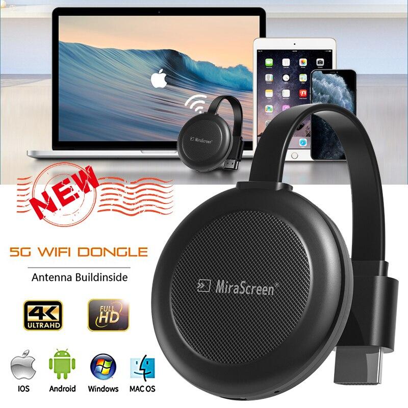 G38 Mirascreen 1080P Беспроводной Wi-Fi дисплей Dongle приемник HDMI-совместимый ТВ-Стик DLNA Miracast AnyCast Airplay Chromecast HD