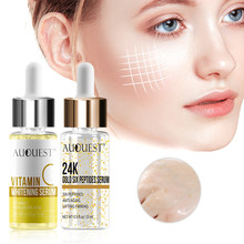 Women Vitamin Facial Serum 24k Gold Skin Care Serum Whitening Solution Anti-aging Wrinkle Essential Liquid Moisturizer Face Care(China)