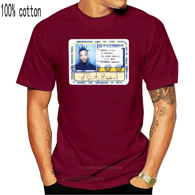 Ol sale bâtard ODB Rap Hip Hop noir ou blanc t-shirt (1)