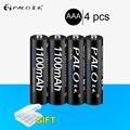 Hot 4Pcs NI MH 1 2 V 1100mAh AAA Akkus Umweltschutz Batterie Für spielzeug uhren Fernbedienung|Wiederaufladbare Batterien|Verbraucherelektronik -