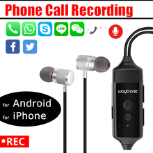 Call Recorder Bluetooth Earphone for iPhone/Android WhatsApp Calls Meeting Onlin