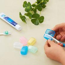 5 шт пластиковый футляр для зубной щетки крышка многоцветный