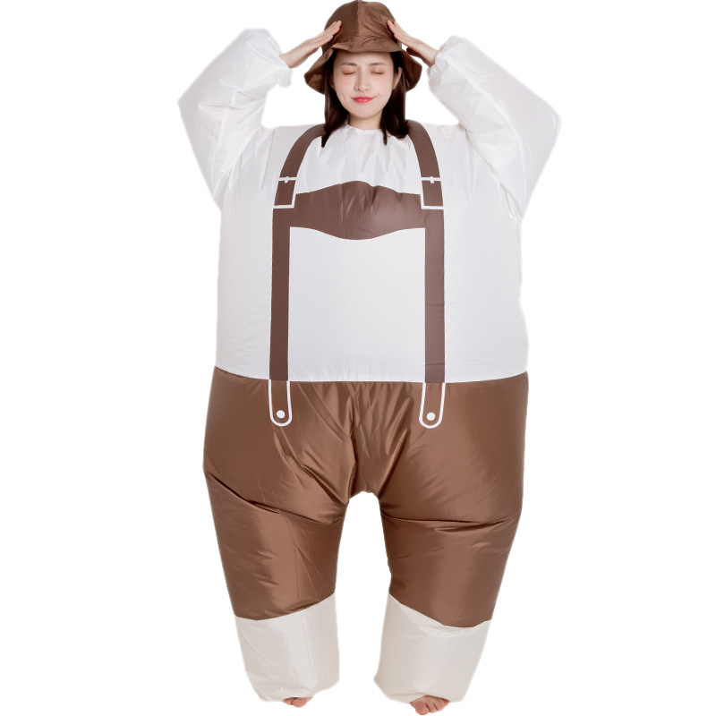 Inflatable Clothes Sumo Inflatable Suspenders Clothing Props Inflatable Clothes Cosplay Costume