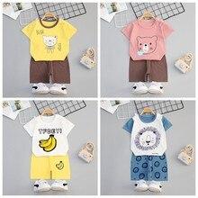 Neue 2021 Junge Mädchen Kleidung Set Für Sommer Kleinkind Kleidung Baby Junge Mädchen Kinder Tragen Casual Baby Tücher Outfits