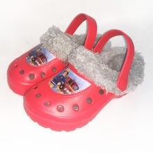 Ltolo/Детские мюли для мальчиков; Теплые Сабо; Зимние сандалии