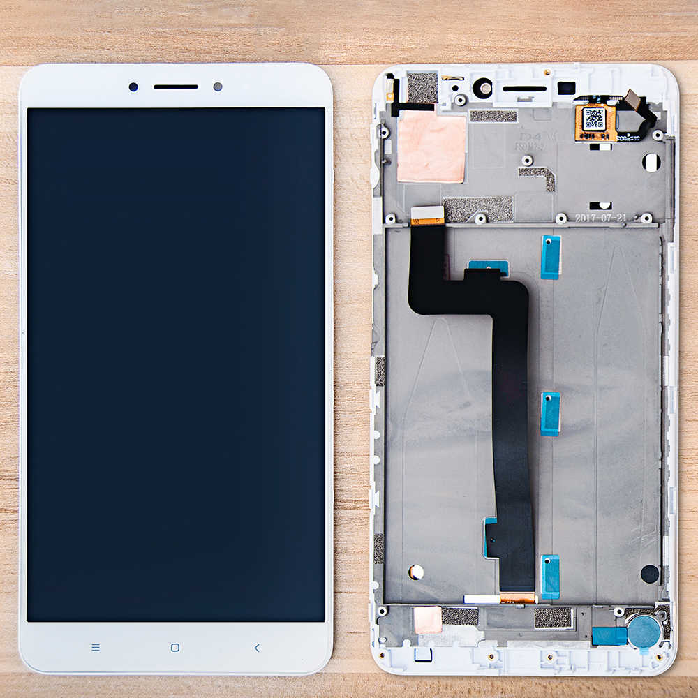 Original 6.44'' Display For Xiaomi MI Max 2 LCD Touch Screen Digitizer Assembly Frame Replacement For Xiaomi MI Max 2 LCD