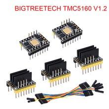 BIGTREETECH TMC5160 V1.2 SPI Драйвер шагового двигателя 4.4A части 3d принтера для Ender 3 SKR V1.3 Pro плата управления VS TMC2130 SPI