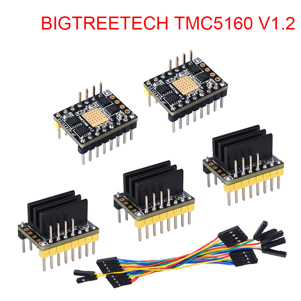 BIGTREETECH TMC5160 V1.2 <font><b>SPI</b></font> Stepper Motor Driver 4.4A 3D Printer Parts For Ender 3 SKR V1.3 Pro Control Board VS <font><b>TMC2130</b></font> <font><b>SPI</b></font> image