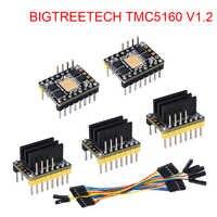 BIGTREETECH TMC5160 V1.2 SPI Schrittmotor Fahrer 4.4A 3D Drucker Teile Für Ender 3 SKR V1.3 Pro Control Board VS TMC2130 SPI