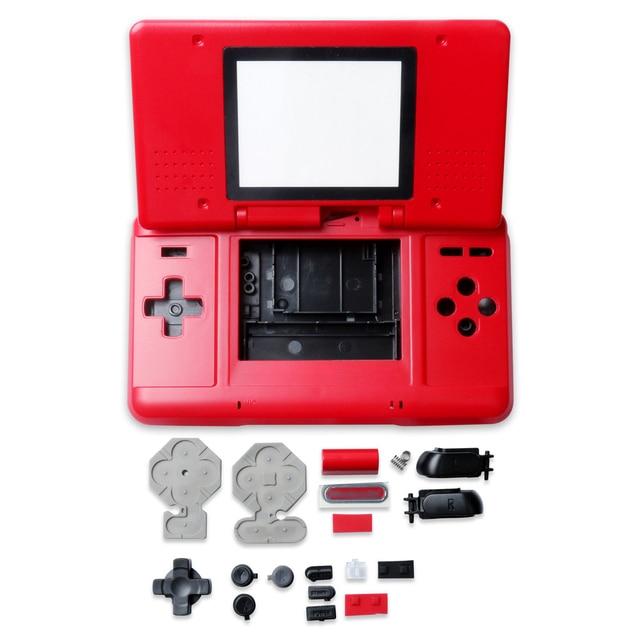 الإسكان شل الحال مع أزرار ل نينتندو DS لعبة وحدة التحكم استبدال الغبار الغطاء الواقي ل نينتندو DS أجزاء