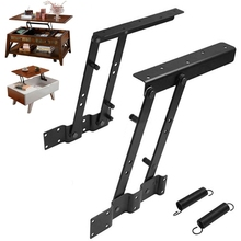 OOTDTY Multi functional high tech Lift Up Top Coffee Table Lifting Frame Mechanism Spring Hinge Hardware