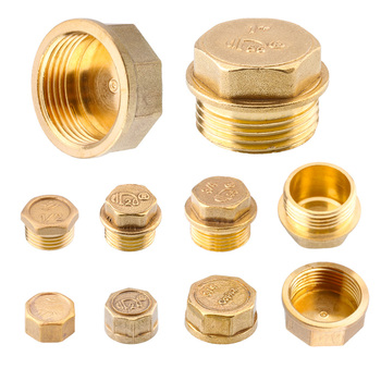 G11/41/83/81/23/4G2 BSP Female Threaded Brass Pipe Hex Head Brass Stopper End Cap Plug Plumbing Fitting Connector Adapter male thread dia internal hex socket head pipe plug fitting copper connector brass fittings gold tone 1 8 1 4 3 8 1 2 3 4