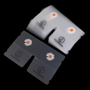10 шт., зажим для хранения безопасной маски, складная Временная коробка для хранения, портативная карманная коробка для хранения с кулиской, ...