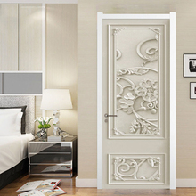 Decal Sticker Photo-Wallpaper Border Home-Decor Chinese-Style Bedroom Living-Room Classic