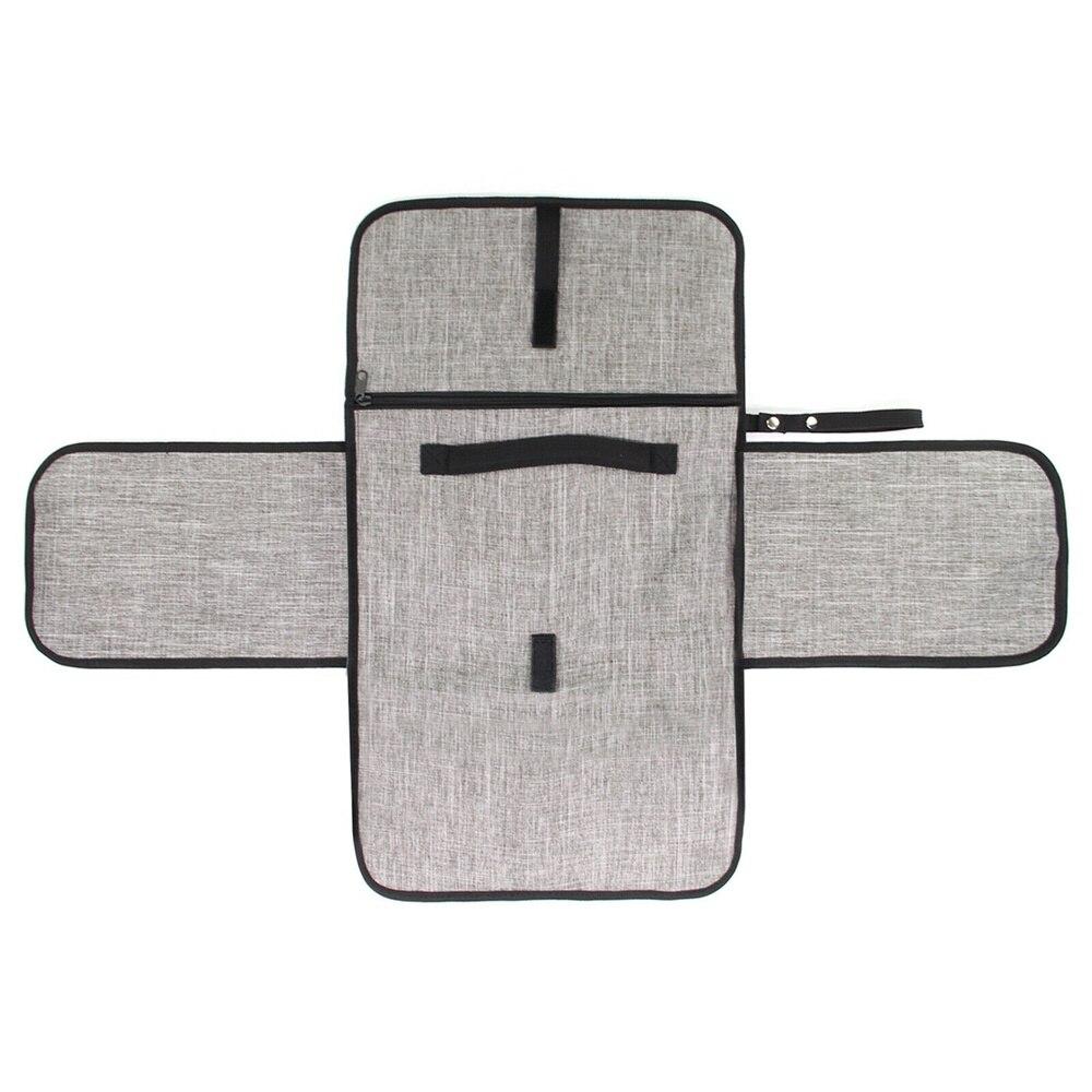 Купить с кэшбэком Portable Foldable Washable Baby Waterproof Travel Diaper Changing Mat Pad