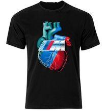 T-Shirt Herz Fan M3 M4 M5 M6 I8 F10 E60 E90 E30 Z4 Z3 T-Shirt T Shirt S-Xxl benutzerdefinierte Grafik Tees T Shirt