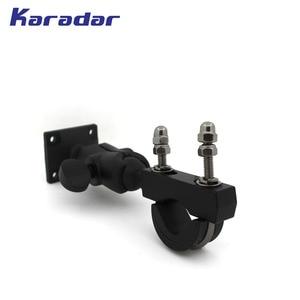 Image 4 - motorcycle handle bar mount /bracket motorcycle GPS mount for  Garmin Zumo 350 390 395 550 595 LM GPS 1096200 BK