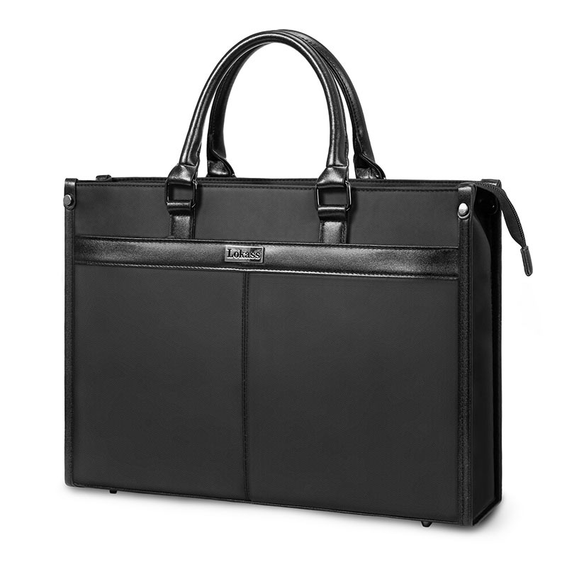 Shoulder Handbag Briefcase Laptop 15.6inch Nylon Multifunction Waterproof Business Bag Office Bags For Men
