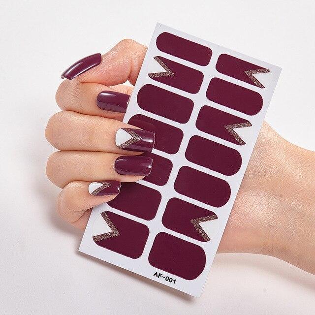 Фото украшения для ногтей декоративная фольга маникюра наклейки ногтевого