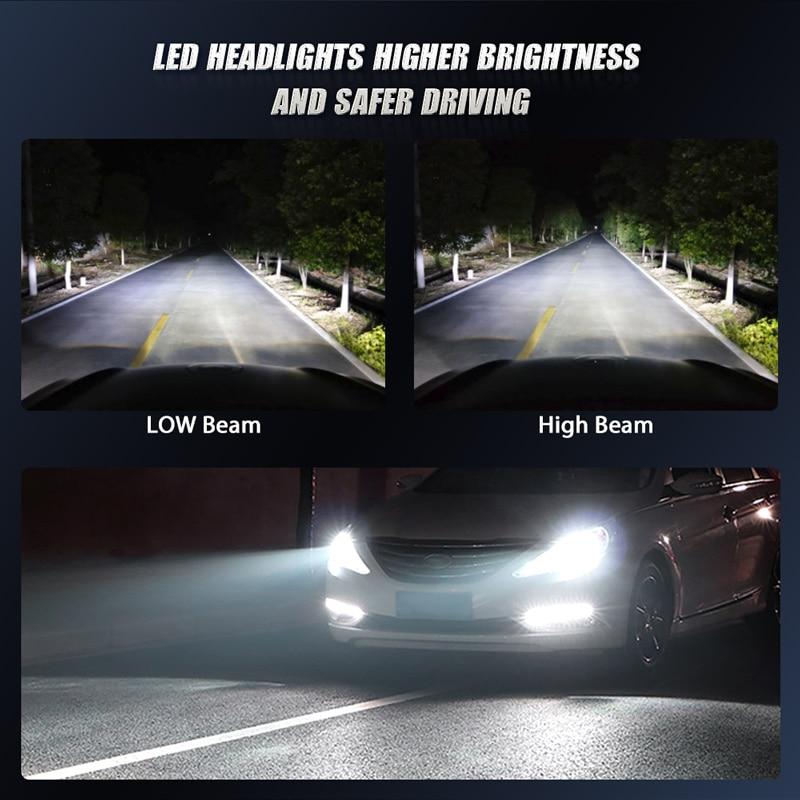CREE mini led headlight bulb (8)