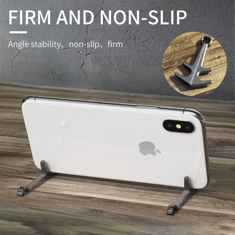 PADCOVER Universal Holder Phone Desktop Stand Aluminum Alloy Easy Carry Anchor Stand Suitable For Ipad Huawei IPhone X XS Holder