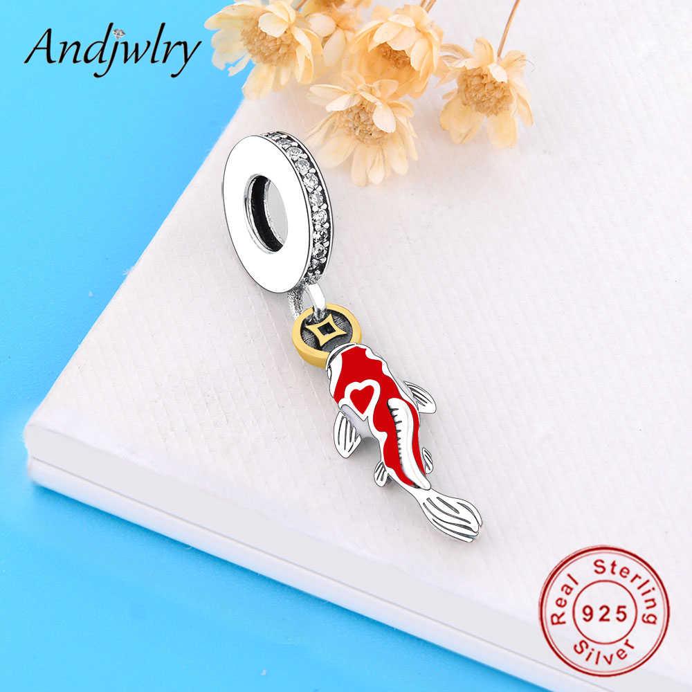 Fit Originele Charms Armband Echt 925 Sterling Zilveren Geluk Karper Enamel Dangle Bedels Kralen Voor Maken Berloque