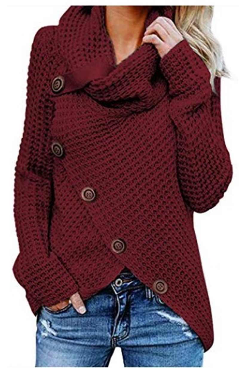 セーター女性の冬 2019 女性プルオーバーセーター女性長袖プルオーバーセーターは女性のカジュアルなプラスサイズのセーター